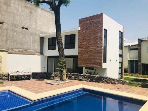 Casa Nueva En Venta En El Centro De Jiutepec