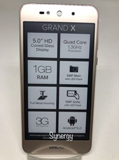 Blu 8gb Gran X G090 Metálico Celular Smartphone Android 6.0