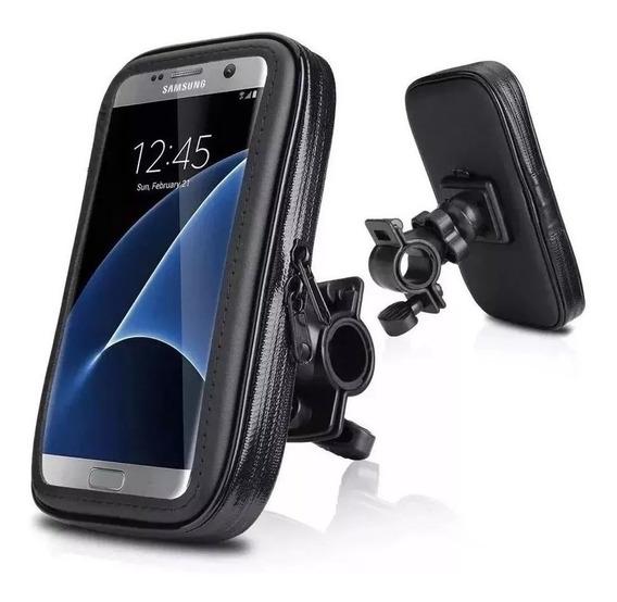 Suporte De Celular Gps Para Motos Impermeável 18x11 Cm