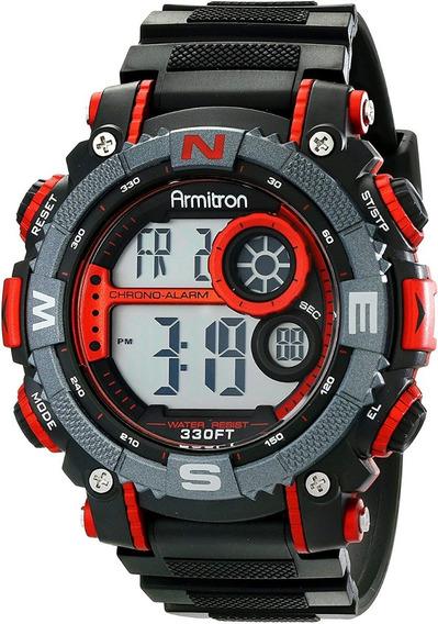 Armitron Sport Hombre 40/8284red Reloj Cronógrafo Digital