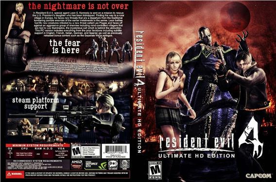 Resident Evil 4 Hd Pc (midia Física)