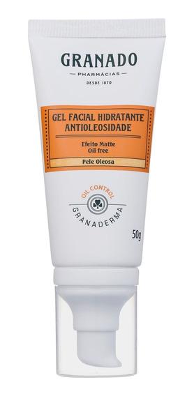 Granado Granaderma Facial Antioleosidade Gel Hidrat 50g Blz