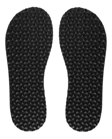 Solado P/ Chinelo De Quarto E Pantufa 6 Mm (5 Pares) Preto