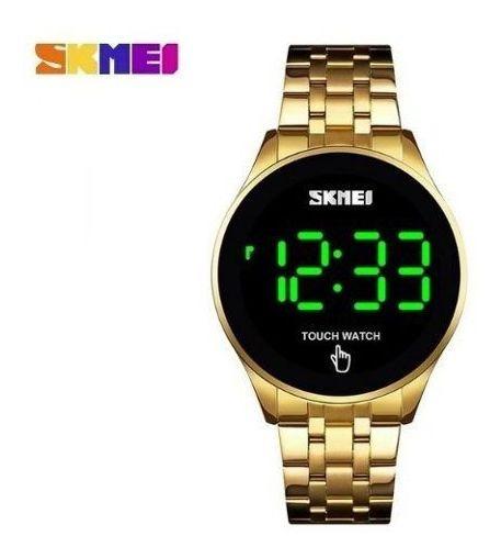 Relógio Skmei Digital 1579 Dourado