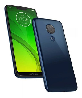 Celular Motorola Moto G7 Power 64gb Tv Xt1955 Azul Vitrine