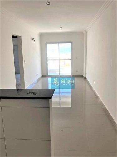 Imagem 1 de 26 de Apartamento Com 2 Dormitórios, 2 Suítes, 1 Vaga, À Venda, 84 M² Por R$ 360.000 - Tupi - Praia Grande/sp - R2t62a - Ap0096