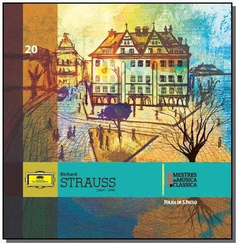 Cd Richard Strauss Mestres Da Música Clássica Folha 20 Novo