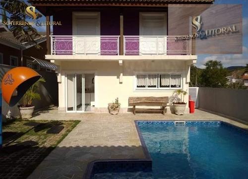 Imagem 1 de 15 de Casa Sobrado - Condomínio Aruã ¿ Sp - Casa Em Condomínio A Venda No Bairro Residencial Colinas Do Aruã - Mogi Das Cruzes, Sp - 346