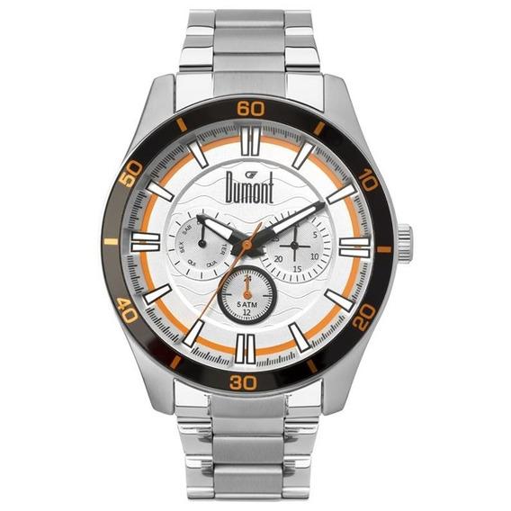 Relógio Dumont Masculino Du6p29acc3k