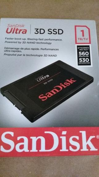 Hd 3d Ssd 1tb.externo Sandisk Ultra 3d Ssd. (slim)