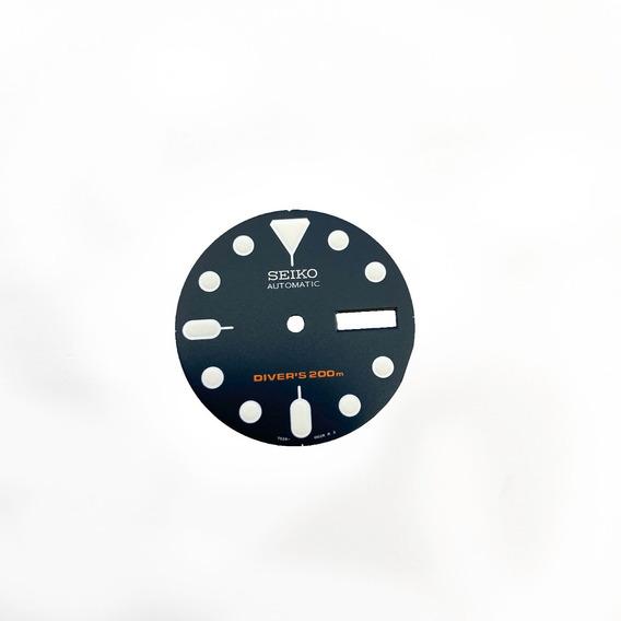 Caratula Dial Seiko Skx009 Original Reloj Skx Skx007 Azul