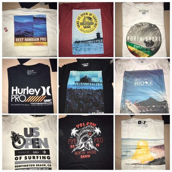 Coleção Camisetas Wsl Asp Campeonatos De Surf