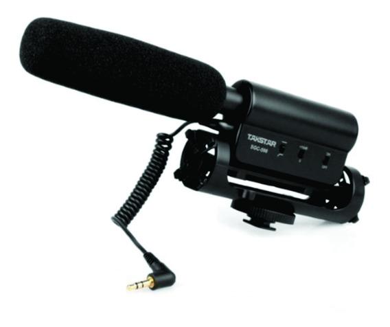 Microfone Takstar Sgc 568 Dslr Canon Nikon Sony