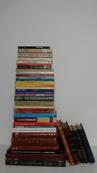 Lote 40 Livros Promocional Sebo Edições Raras Antigos