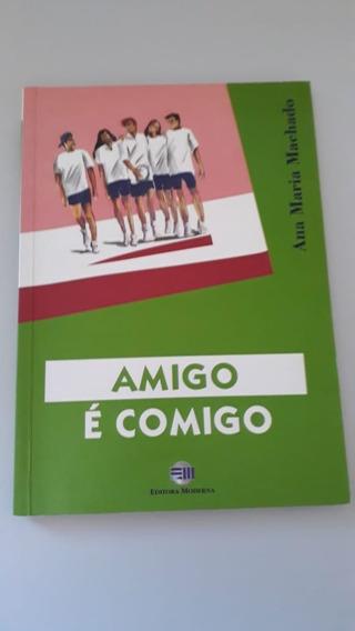 Livro Amigo É Comigo-top-usado-oferta-perfeito