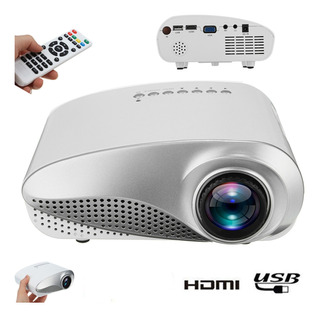 Eu/us Plug 3d Portátil 1080p Hd Led Mini Proyector Multimedi