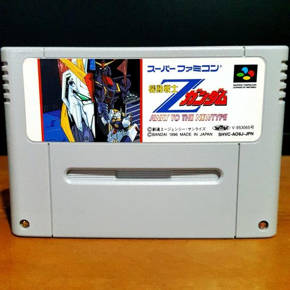 Kidou Senshi Z Gundam - Super Nintendo / Famicom S/ Juros