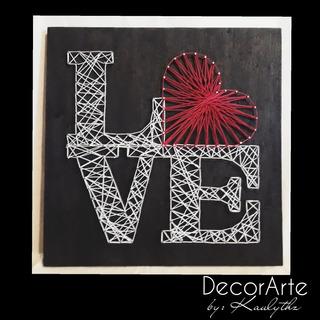 Cuadro Decorativo Moderno, Love