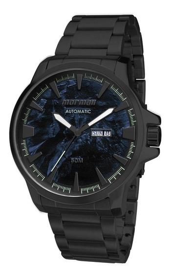Relógio Masculino Mormaii Automático Preto Mo8205ac/4p Orig
