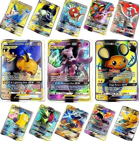 Kit Lote 31 Cartas Pokemon : 30 Gx + 1 Mega Ex