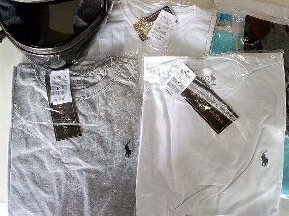 Kit Com 50 Camisas Várias Cores
