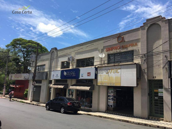Sala Para Alugar, 43 M² Por R$ 800,00/mês - Centro - Mogi Guaçu/sp - Sa0026