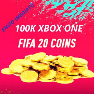 100k Coins Fifa 20 Xbox One (cobrimos 5% )