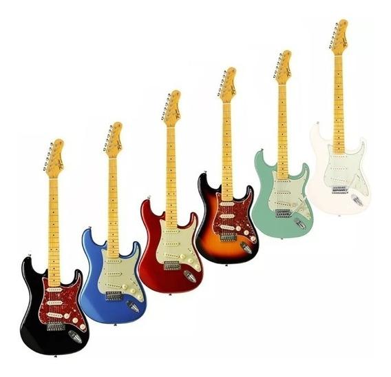 Guitarra Tagima Tg530 Woodstock Varias Cores + Regulagem E Brinde Frete Gratis!