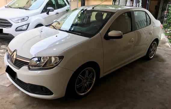 Renault Logan 2015 1.6 Expression 2º Dono - 44000km - Branco