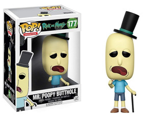 Funko Pop Mr. Poopy Butthole #177 Rick And Morty - Nextgames