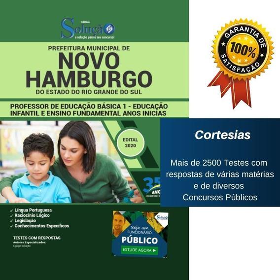 Apostila Novo Hamburgo Rs - Peb 1 - Ensino Fundamental