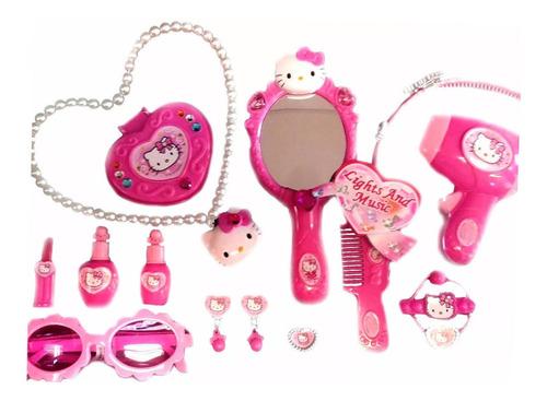 Set De Belleza Hello Kitty Sanriousa 15 Piezas