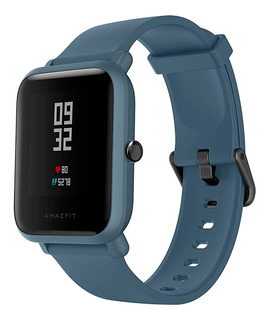 Xiaomi Amazfit Bip Lite Smartwatch Negra Y Azul Novicompu