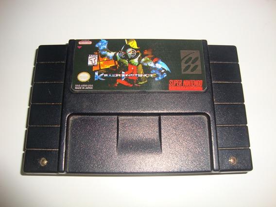 Killer Instinct Original Nacional Para Super Nintendo