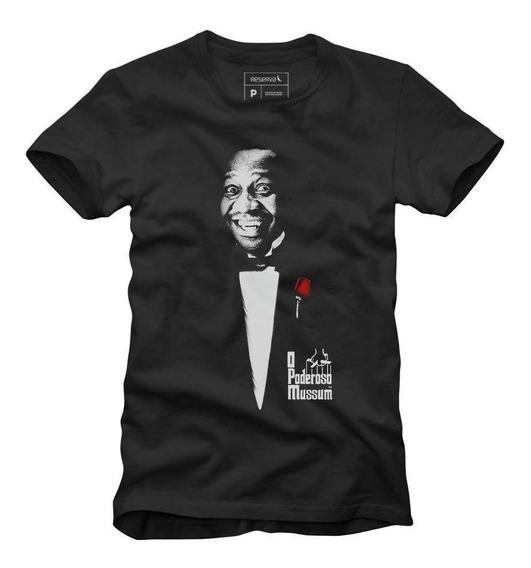 T-shirt O Poderoso Mussum Reserva