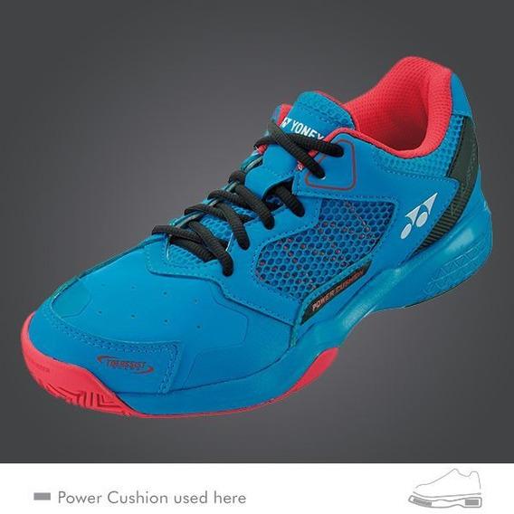 Tênis Yonex Lumio 2 Power Cushion - Blue/red