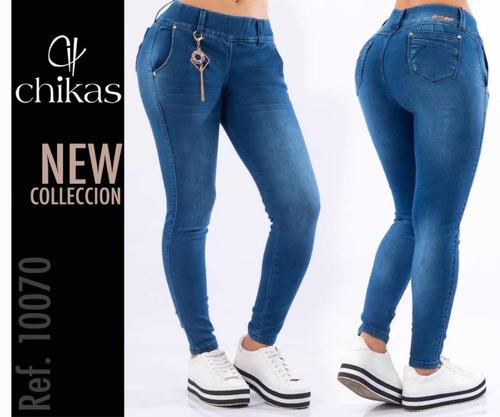 Pantalones Blue Jeans De Dama Colombianos Studio F Mercado Libre