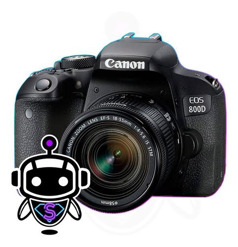 P R O F E S I O N A L Canon 800d + 128gb + Tripode + Maleta
