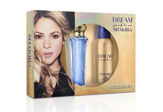 Kit Shakira Dream Feminino Edt 80ml + Deo Spray 150ml