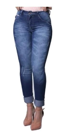 Calça Jeans Feminina Mid Skinny Cintura Média Biotipo