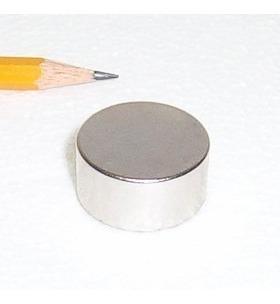 Imán De Neodimio Disco 25mm X 12.7mm