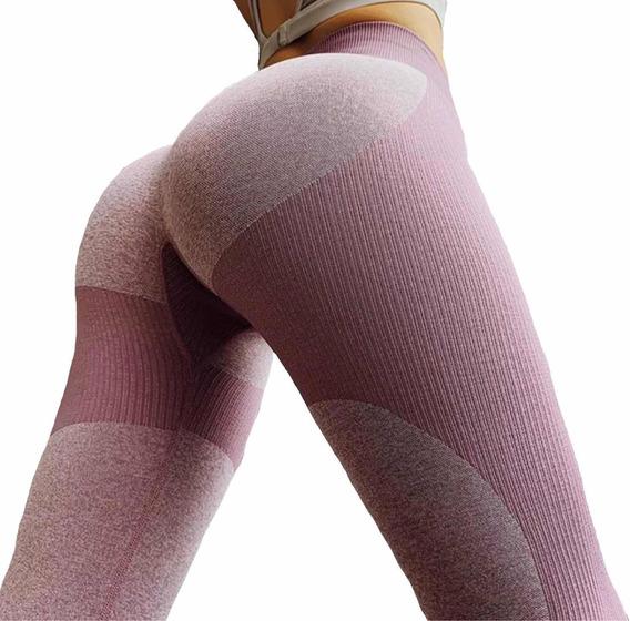 Leggins Mujer Deportivos De Moda Mallas Ejercicio Calidad Mp