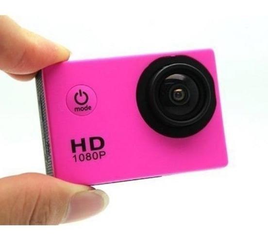 Câmera Fotográfica/filmadora Tipo Gopro Full Hd Prova D