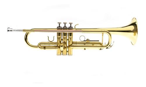Trompeta Memphis Ft6418l Con Estuche Rigido