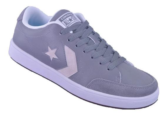 Zapatillas Converse Star Court Ox Mason Adulto Gris Blanco