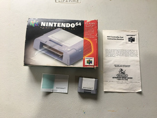 Nintendo 64 Controller Pak En Caja