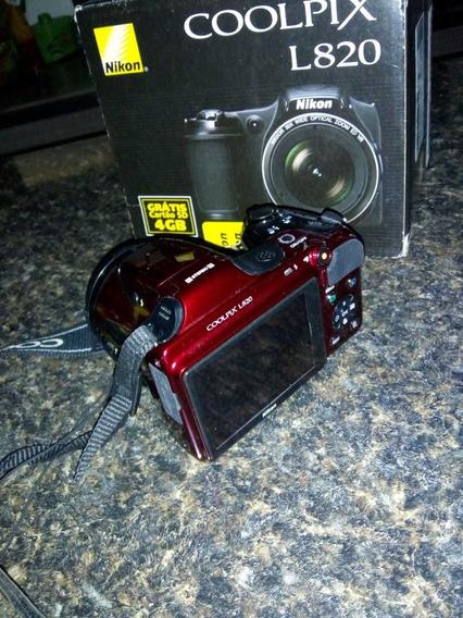 Máquina Fotográfica Digital , Nixon Coolpix L820