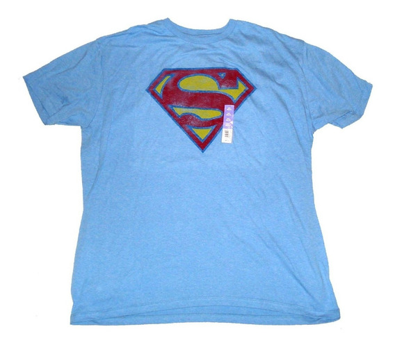 Remera Superman Dc Comics Original Talle Xxl Import Nueva