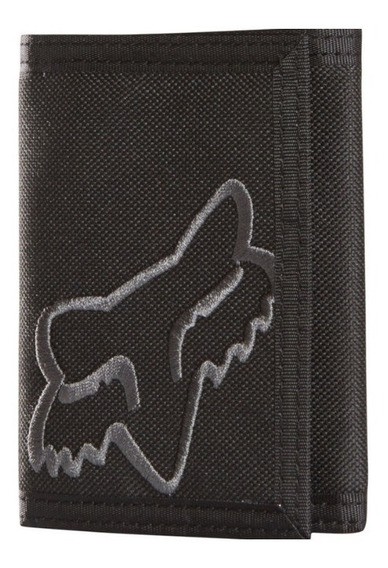 Cartera Fox Mr. Clean Velcro Negro Casual