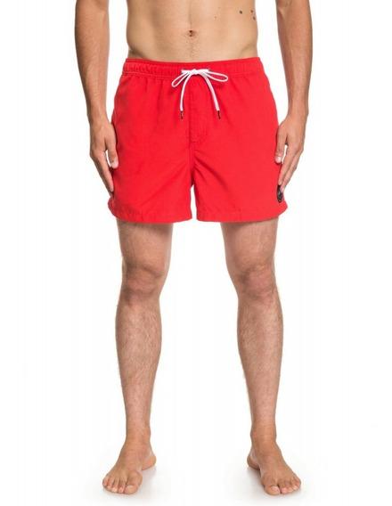 Dc Short De Baño Lifestyle Hombre Everyday Volley 15 Rojofkr